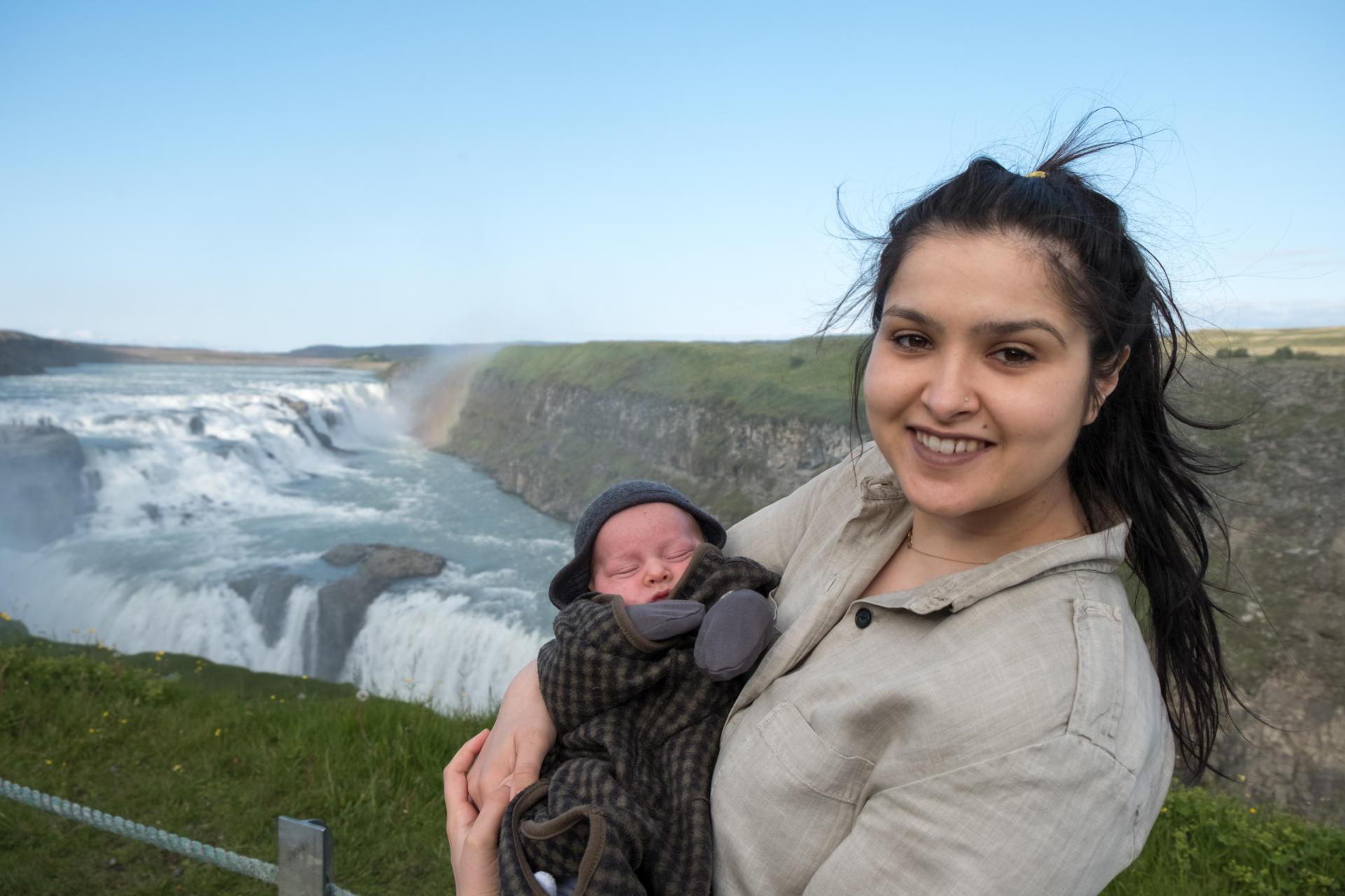 Islandia z dzieckiem