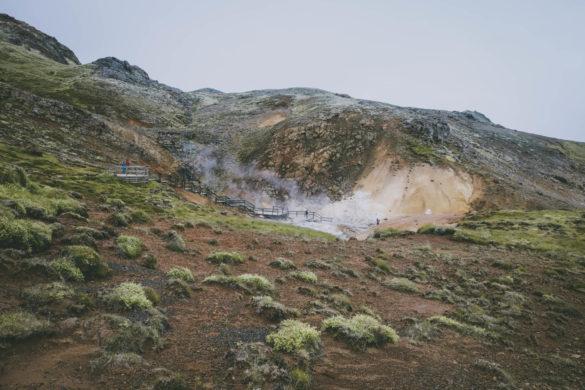 Fotopodróż: Krýsuvík-Seltún i Kleifarvatn – lipiec 2018