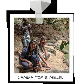 Top 5 miejsc w Gambii